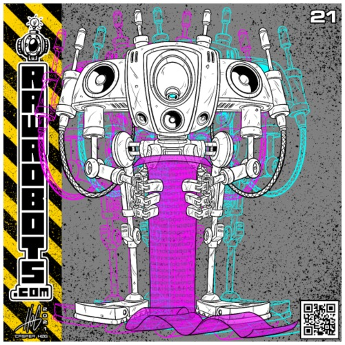 The S.P.E.E.C.H. Robot! - Herre premium T-shirt