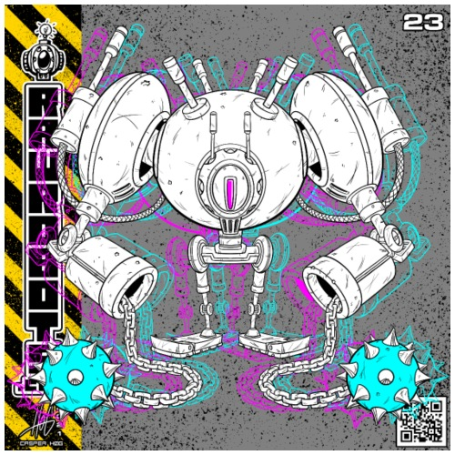 The C.H.A.I.N. Robot! - Herre premium T-shirt