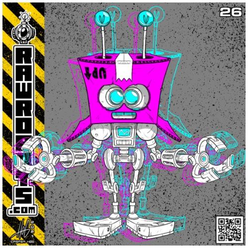The B.O.X. Robot! (Basic Office Xerox)! - Herre premium T-shirt