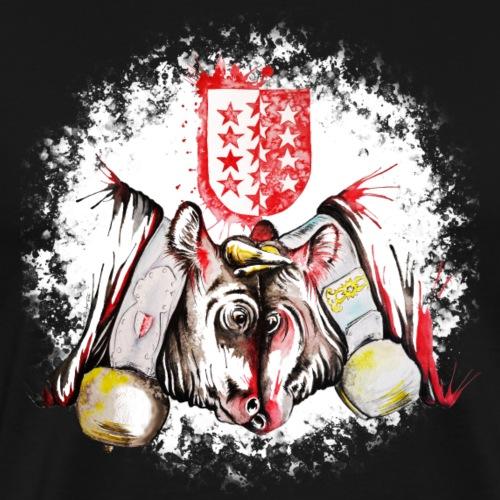 Vache d'hérens Eringer valais - T-shirt Premium Homme