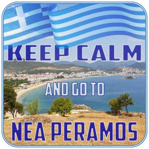 KEEP CALM and go to NEA PERAMOS / Greece - Männer Premium T-Shirt