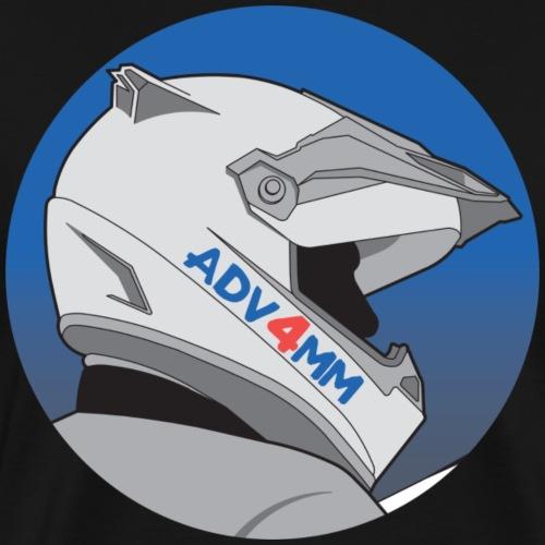 ADV4MM Helmet Round - Men's Premium T-Shirt