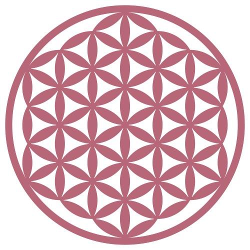Blume des Lebens verschmolzen Heilige Geometrie - Männer Premium T-Shirt
