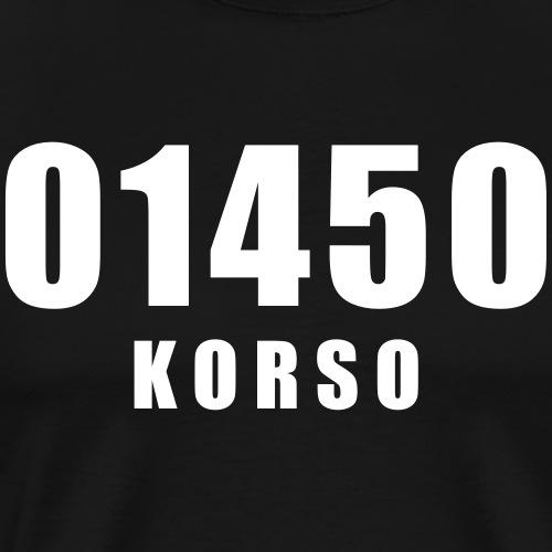 01450 Korso - Miesten premium t-paita