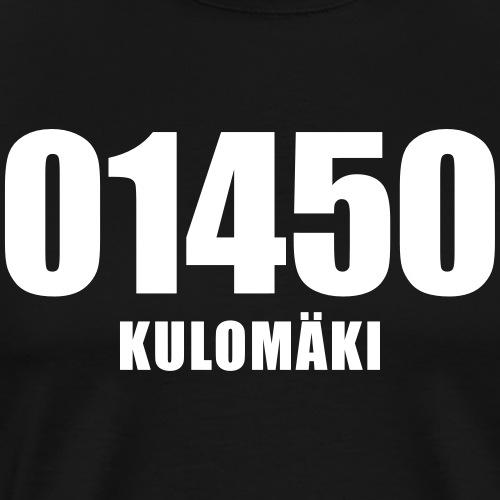01450 KULOMAKI - Miesten premium t-paita