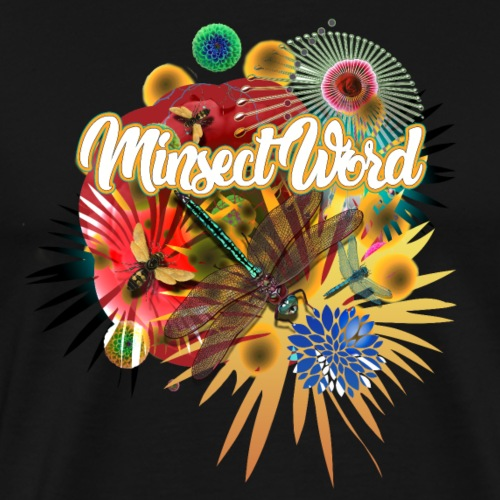 minsect - Camiseta premium hombre