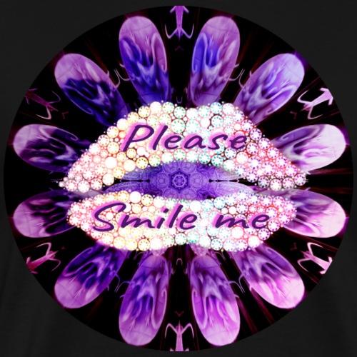 PLEASE, SMILE ME. - Camiseta premium hombre