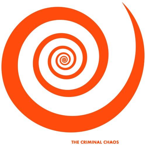 THE CRIMINAL CHAOS - Logo Spirale - Maglietta Premium da uomo