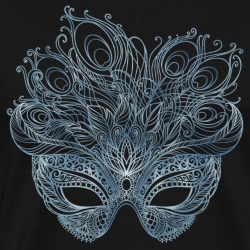 Feathered Mask - Men's Premium T-Shirt