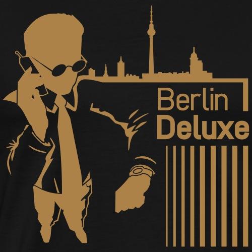 Berlin Deluxe Business Motiv - Männer Premium T-Shirt
