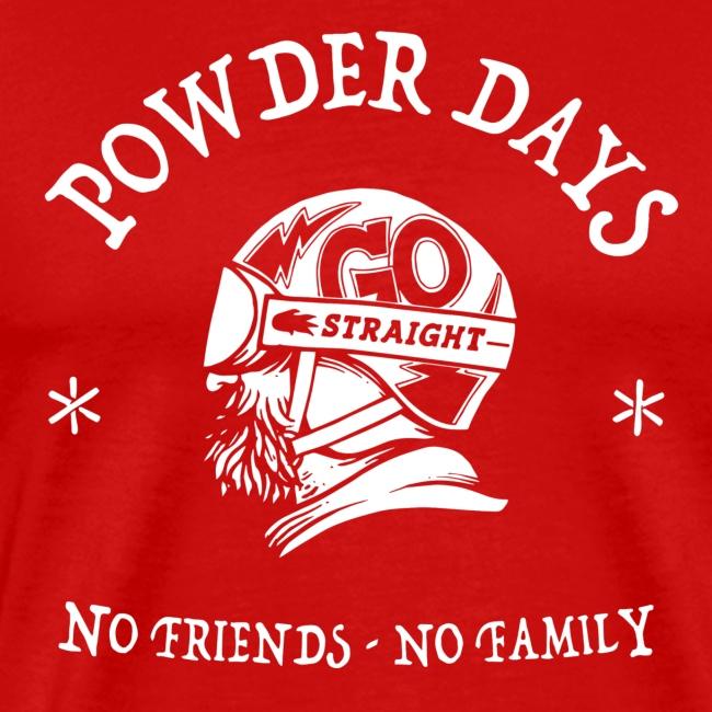 neige - powder days