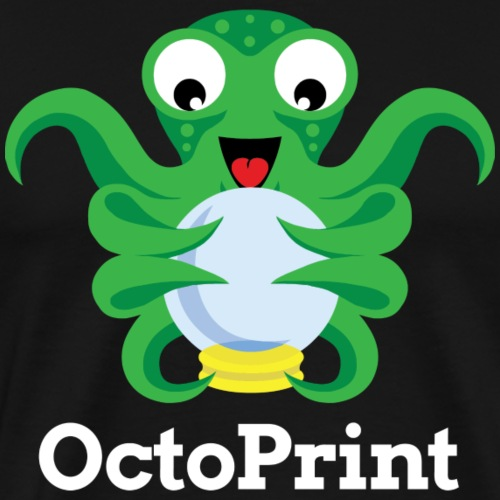 OctoPrint logo & text - Men's Premium T-Shirt