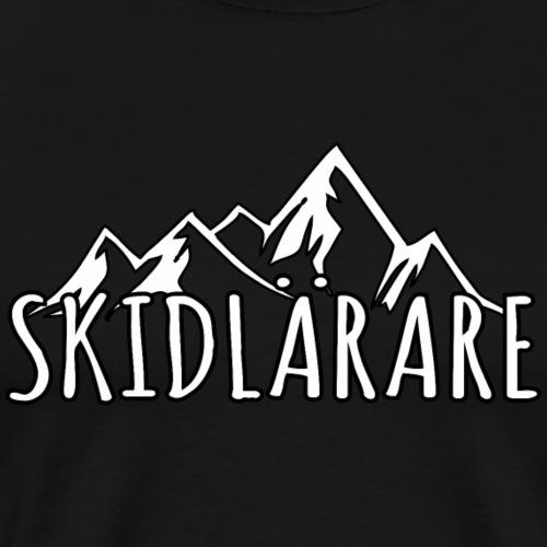 skidlärare sverige ski instructor skjorta present - Männer Premium T-Shirt