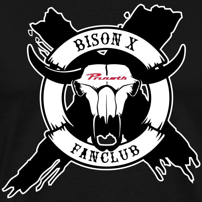 Bison X Fanclub white
