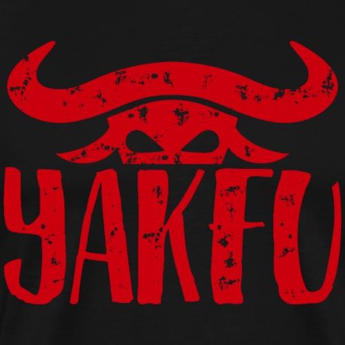 YakFu (Red) - Männer Premium T-Shirt