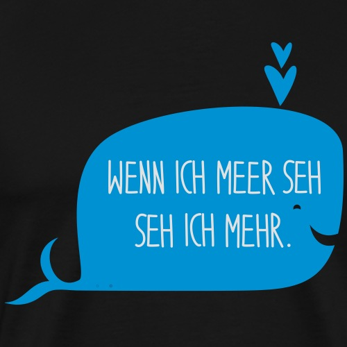 LES TROIS CR3ATEUSES_Wal_2 - Männer Premium T-Shirt