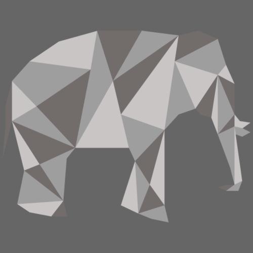 elephant géométrique - T-shirt Premium Homme