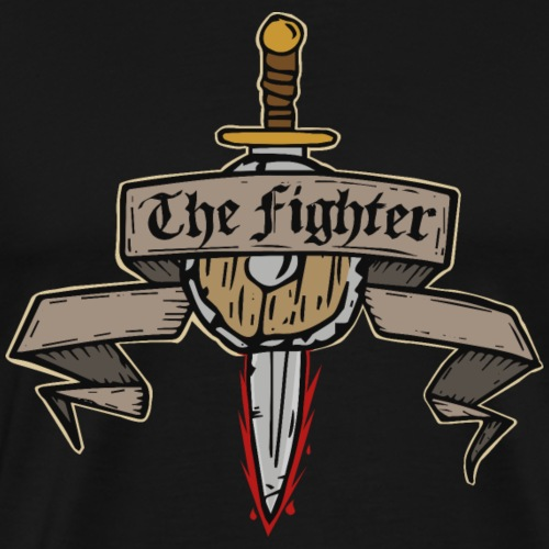 The Fighter - Men's Premium T-Shirt