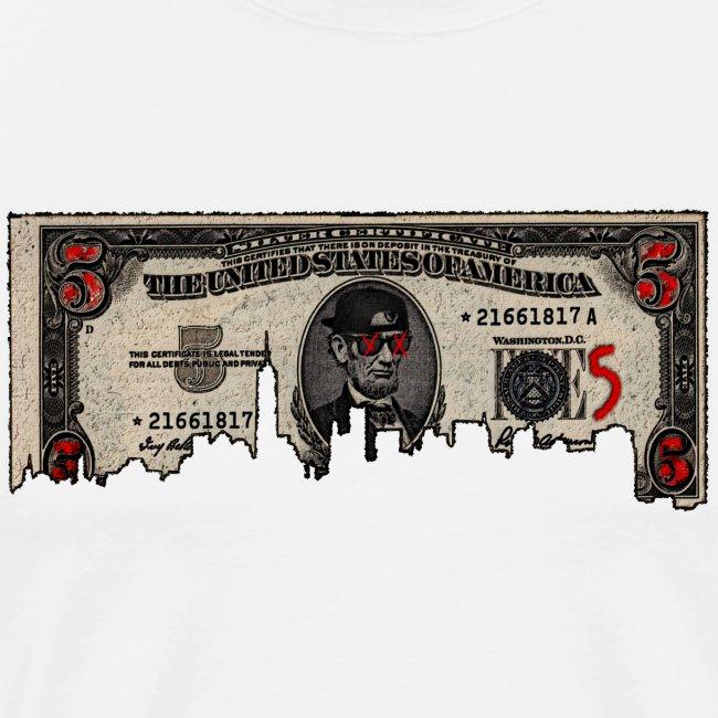FIVES dollars