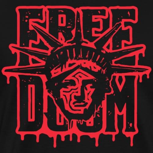 Freedoom - Premium-T-shirt herr