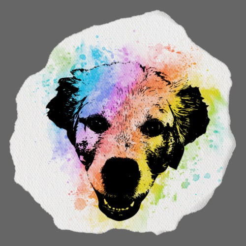 Golden Retriever Aquarell - Männer Premium T-Shirt