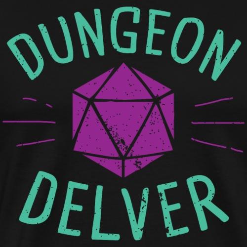 Dungeon Delver violet auqa - Men's Premium T-Shirt