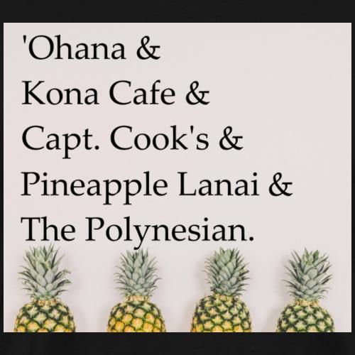 Polynesian Resort - Men's Premium T-Shirt