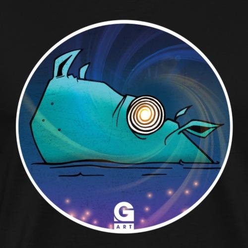 GIGGJOTT animatti ipnopotamo - Maglietta Premium da uomo