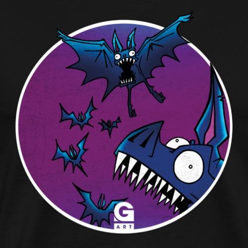 GIGGJOTT animatti pipistrillo - Maglietta Premium da uomo
