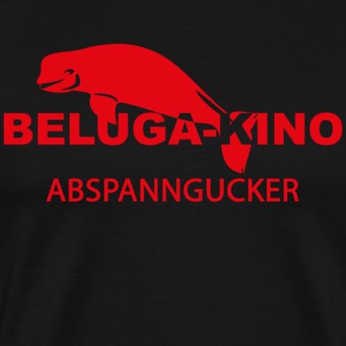 Abspanngucker mit Beluga Logo - Männer Premium T-Shirt