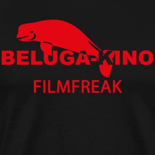 Filmfreak mit Beluga Logo - Männer Premium T-Shirt