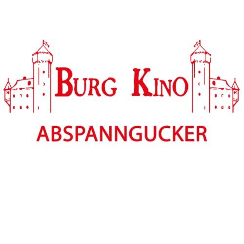 Abspanngucker mit Burg Kino Logo - Männer Premium T-Shirt