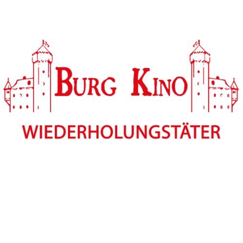 Wiederholungstäter mit Burg Kino Logo - Männer Premium T-Shirt