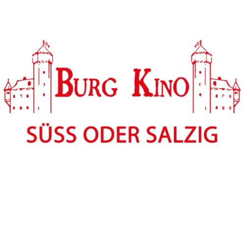 SÜSS ODER SALZIG mit Burg Kino Logo - Männer Premium T-Shirt