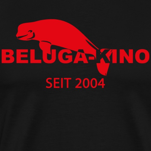 seit 2004 mit Beluga Kino Logo - Männer Premium T-Shirt