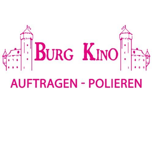 Auftragen - Polieren mit Burg Logo in pink - Männer Premium T-Shirt