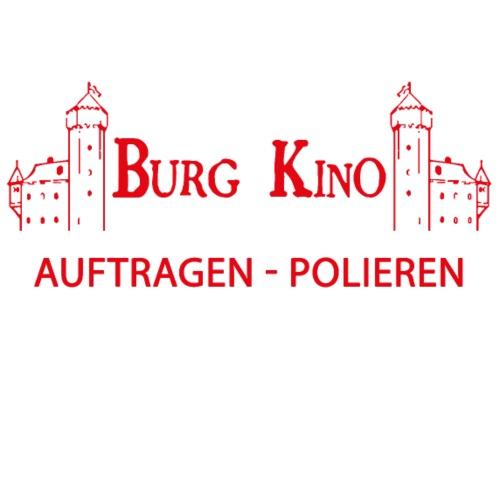Auftragen - Polieren mit Burg Logo in rot - Männer Premium T-Shirt