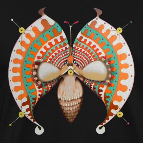 Farfalla circolare - Maglietta Premium da uomo