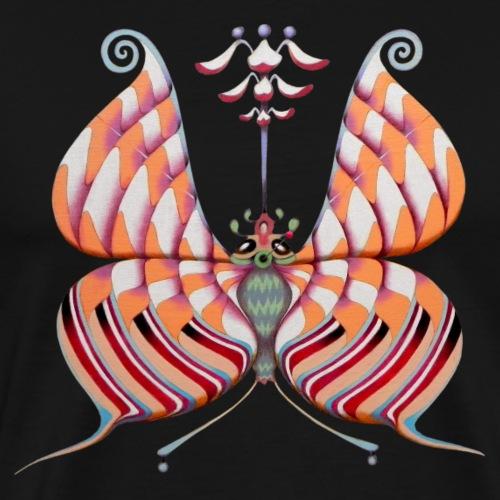 Circular butterfly - Maglietta Premium da uomo
