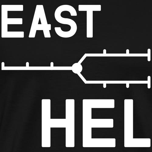 East-helsinki - Miesten premium t-paita