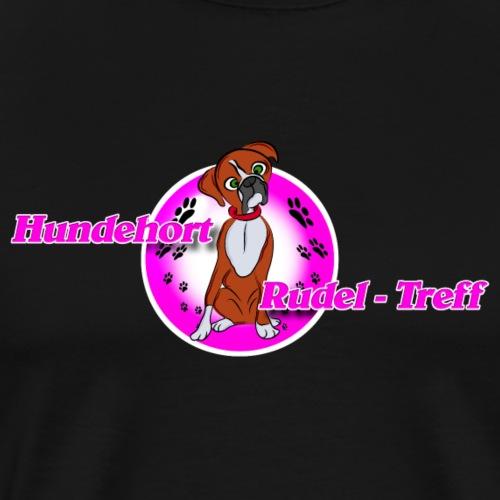 Hundehort Rudel-Treff - Männer Premium T-Shirt