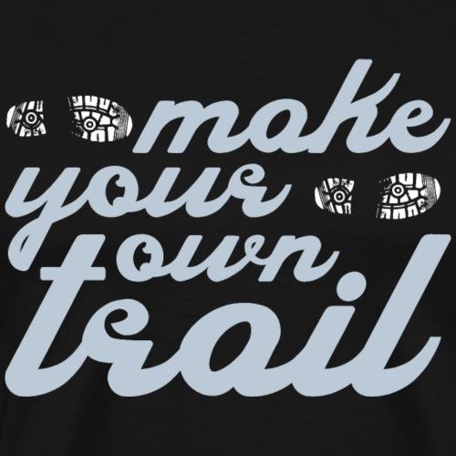 Trailrunner Trailrunning Shirt Traillauf Geschenk - Männer Premium T-Shirt