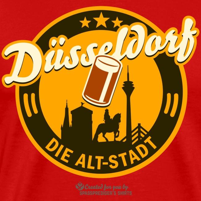 Düsseldorf - Spruch Die Alt-Stadt & Wahrzeichen