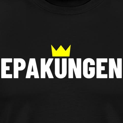 EPAkungen - Premium-T-shirt herr