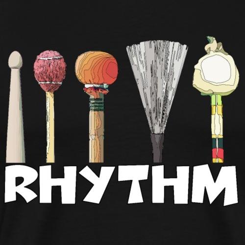 Rhythm - Männer Premium T-Shirt