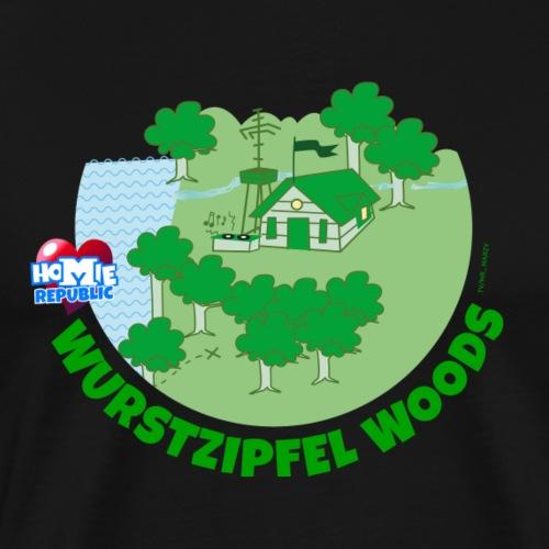 Wurstzipfel Woods Gebietsmotiv - Männer Premium T-Shirt
