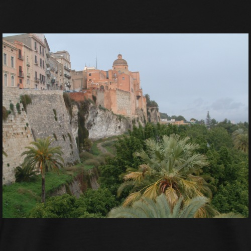 Cattedrale di Cagliari vista da dietro