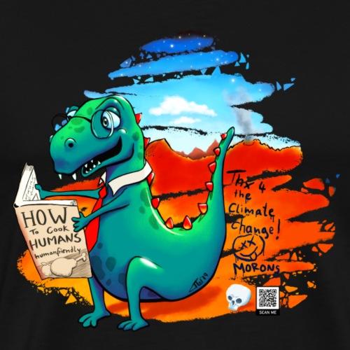 Autodidaktolosaurus - Männer Premium T-Shirt