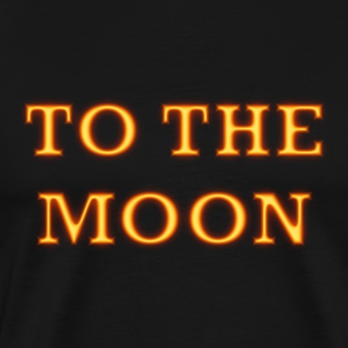 To the moon - T-shirt Premium Homme