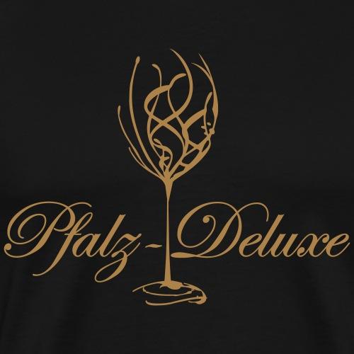 Pfalz Deluxe Weinglas gross - Männer Premium T-Shirt
